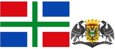 vlag van Groningen